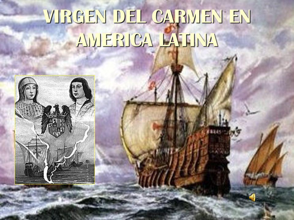 VIRGEN DEL CARMEN EN AMERICA LATINA