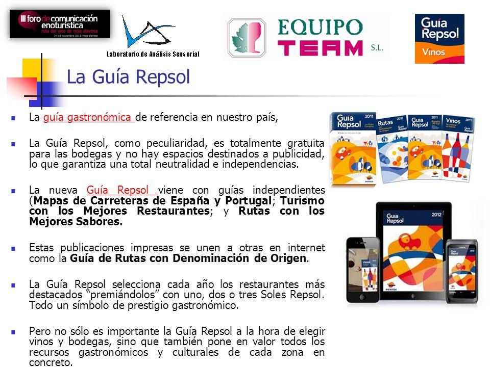 La Guía Repsol La guía gastronómica de referencia en nuestro país,guía gastronómica La Guía Repsol, como peculiaridad, es totalmente gratuita para las