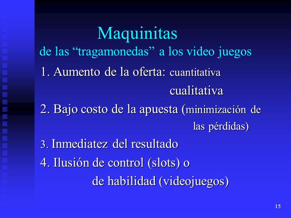 15 Maquinitas de las tragamonedas a los video juegos 1.