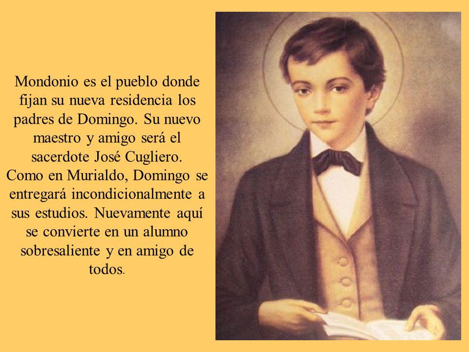 Mondonio es el pueblo donde fijan su nueva residencia los padres de Domingo.