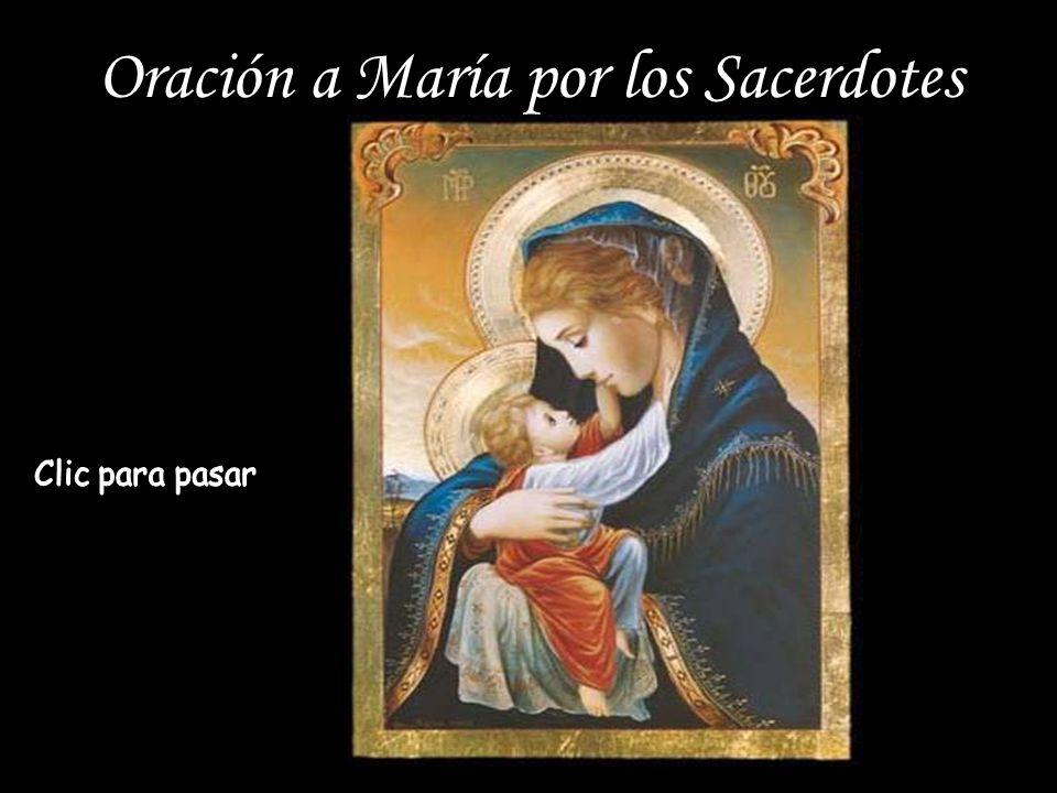 Oración a María por los Sacerdotes