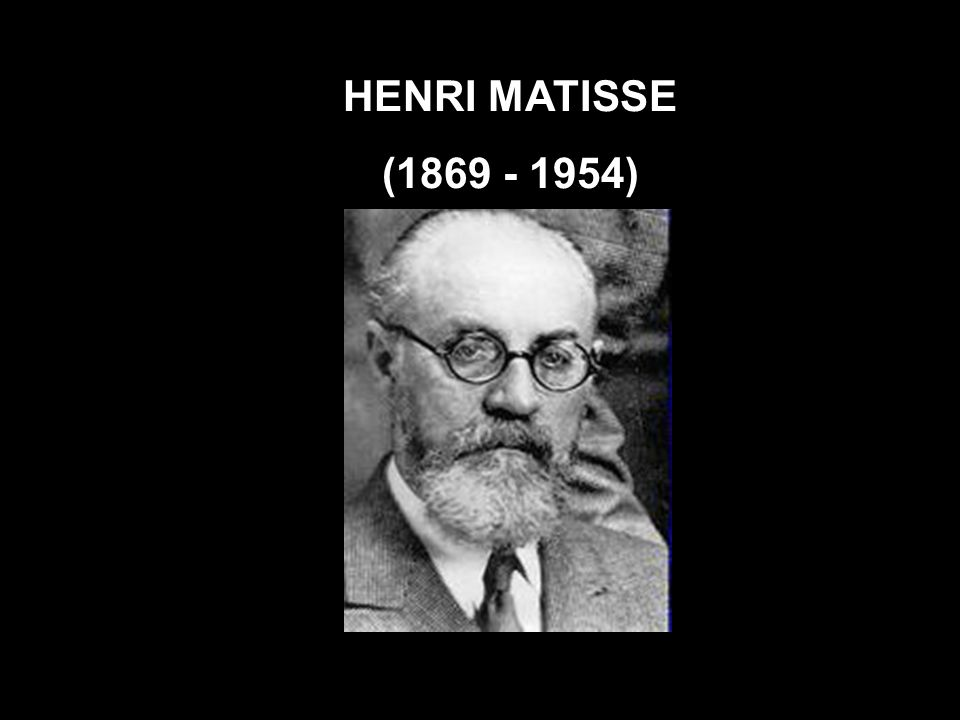 HENRI MATISSE (1869 - 1954)