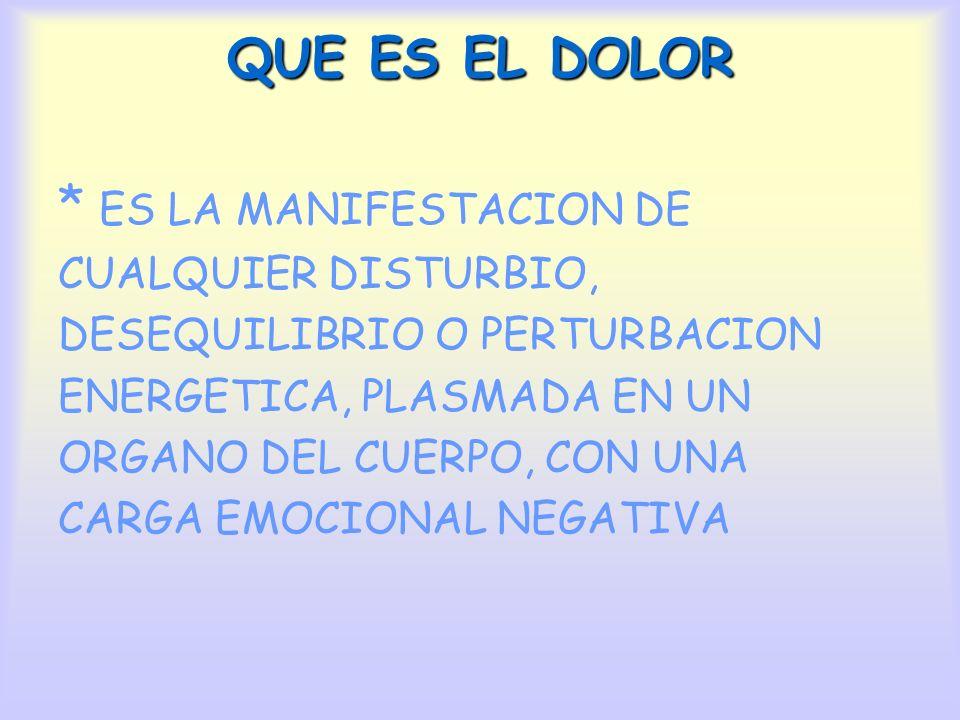 ¿COMO TRATAR EL DOLOR.1.