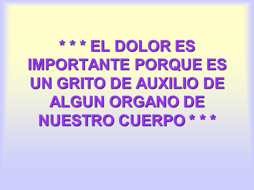 ORIGEN DEL DOLOR 1.