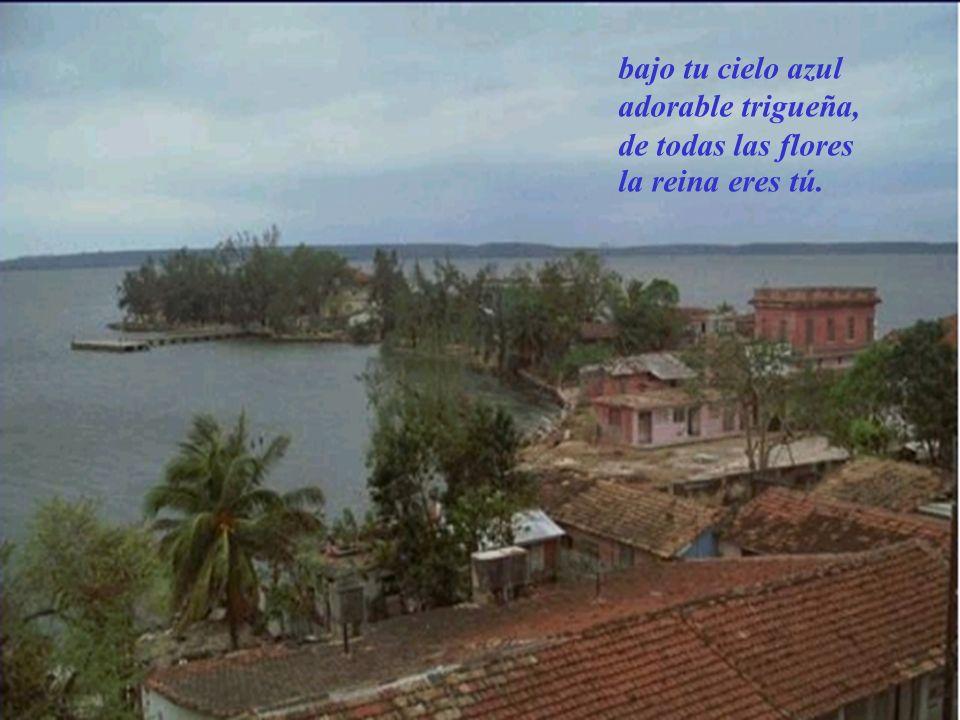 En Cuba, la isla hermosa del ardiente sol