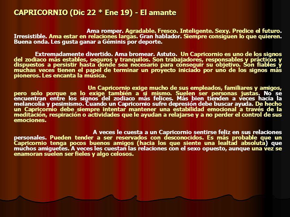 ACUARIO (Ene 20 * Feb 18) - Lo hace en el agua Confiable.