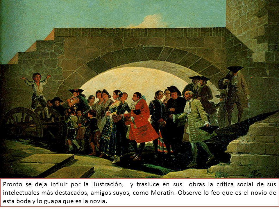 La duquesa de Osuna, Doña Josefa de Pimentel, se ha construido una villa de recreo, El Capricho: tiene que decorarla.