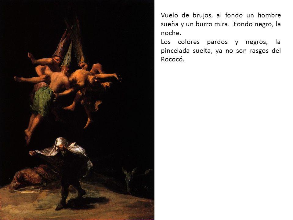 Un remanso de paz; Goya siente ternura por los niños, da igual su familia.