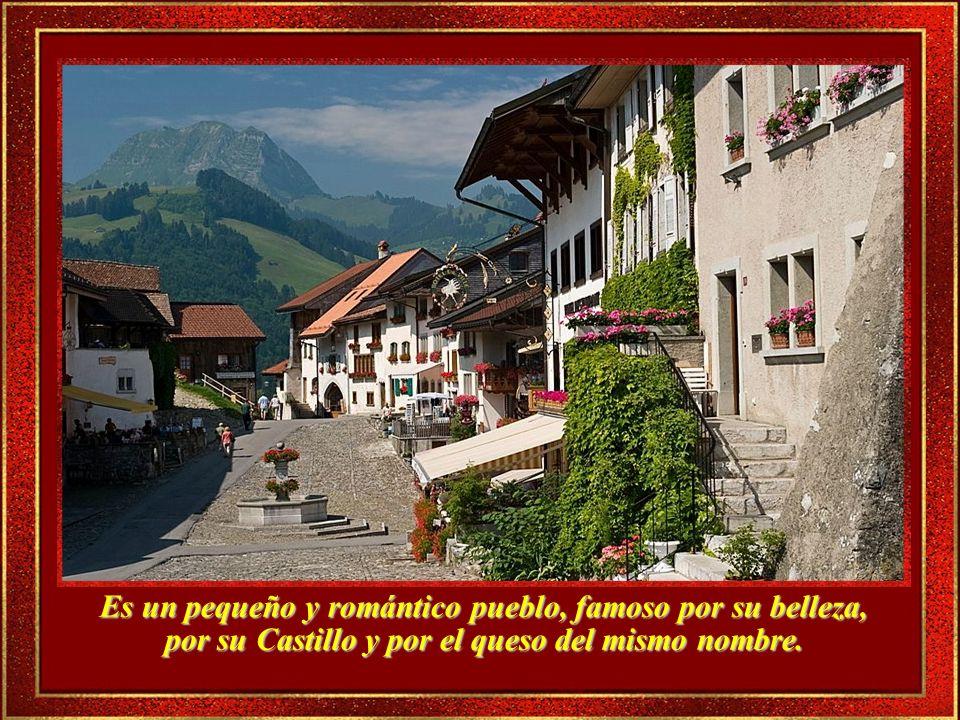 Gruyere es uno de los lugares más populares de Suiza, digno de verse.
