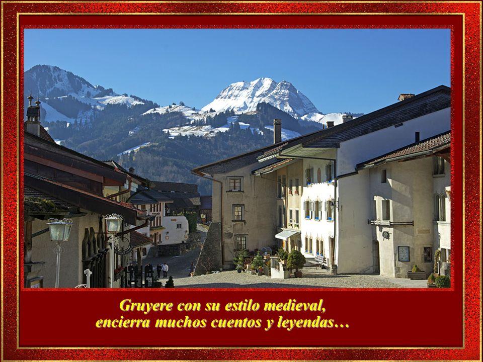 Desde las ventanas se pueden ver excelentes vistas de los Alpes