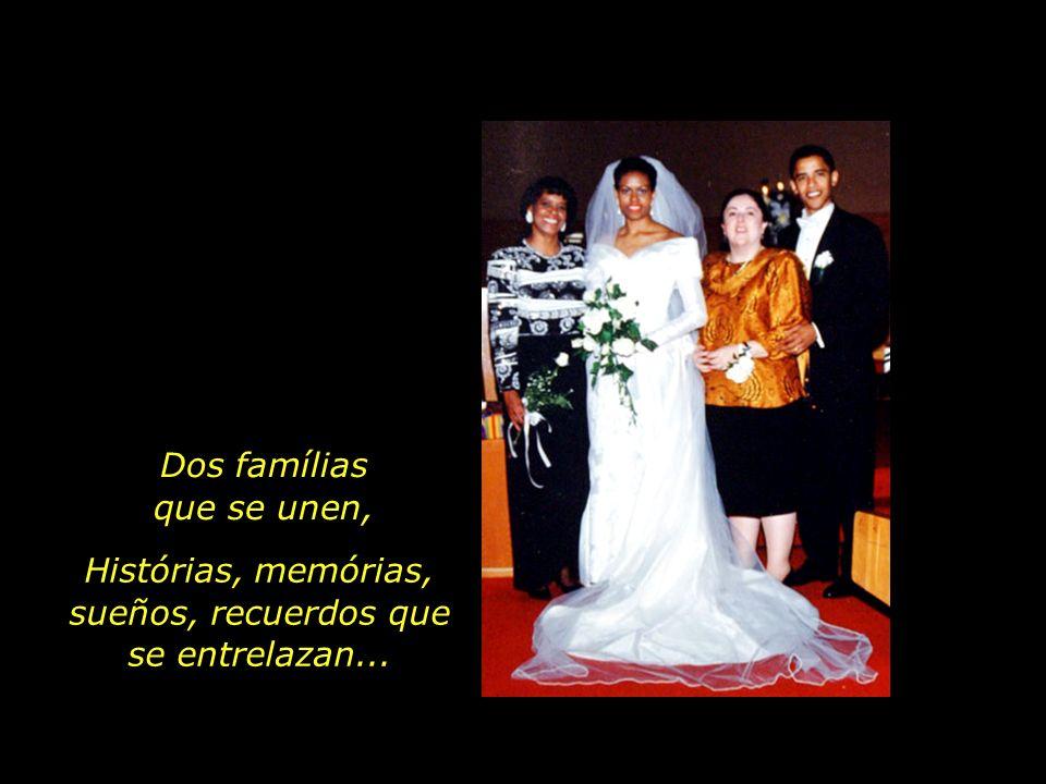 Marian Robinson com su hija, Michelle Ann Dunham con su hijo, Barack Obama