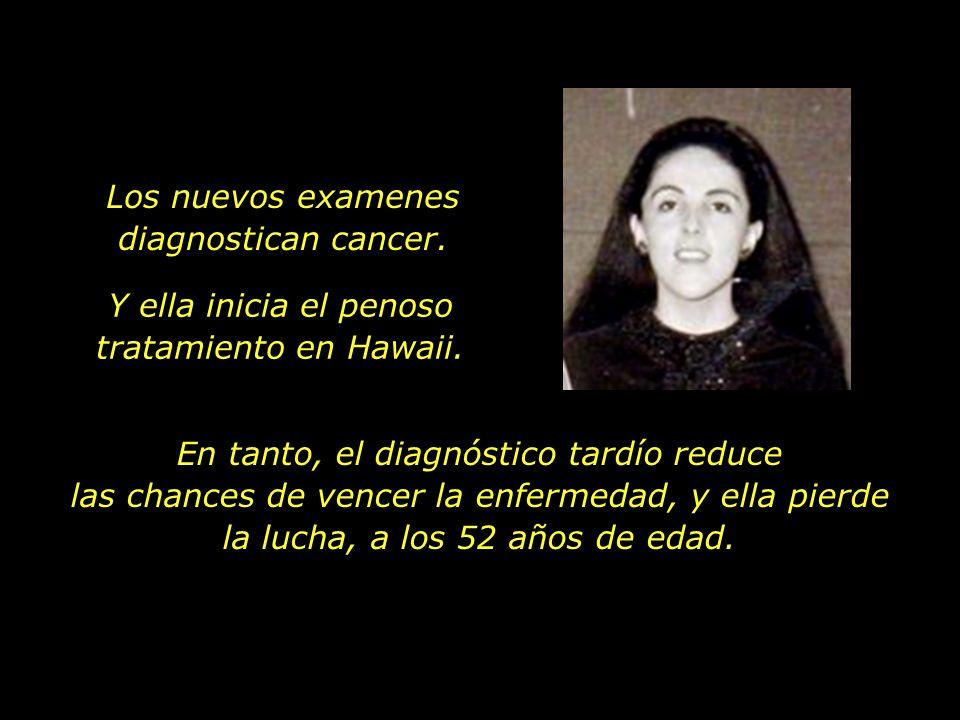 En 1995, Ann interrumpe sus atividades en proyetos socio-económicos en el Ásia para cuidar de su salud en los Estados Unidos. Hace cerca de un año que