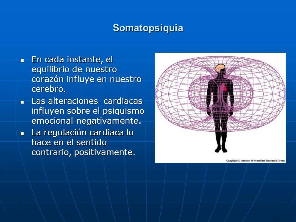 Somatopsiquia En cada instante, el equilibrio de nuestro corazón influye en nuestro cerebro. En cada instante, el equilibrio de nuestro corazón influy