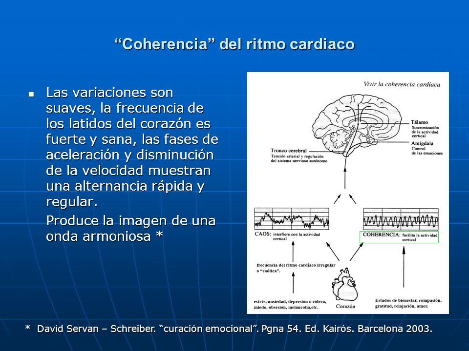 Somatopsiquia El corazón envía estímulos aferentes al cerebro por las vías del sistema nervioso autónomo El corazón envía estímulos aferentes al cerebro por las vías del sistema nervioso autónomo Y por sangre con diversos neurotransmisores que influyen en su funcionamiento.