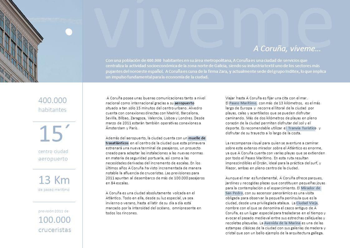 Viajar hasta A Coruña es fijar una cita con el mar. El Paseo Marítimo, con más de 13 kilómetros, es el más largo de Europa y recorre el litoral de la