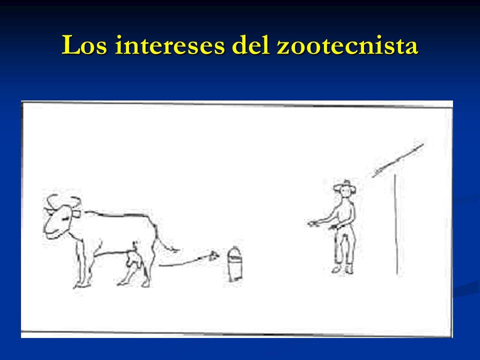 Los intereses del zootecnista