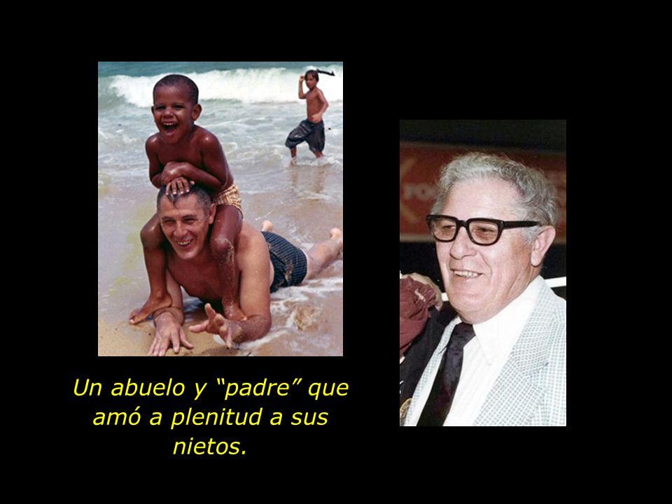 Padre y esposo amoroso. (En la foto, con su esposa Madelyn y su hija, Ann.)