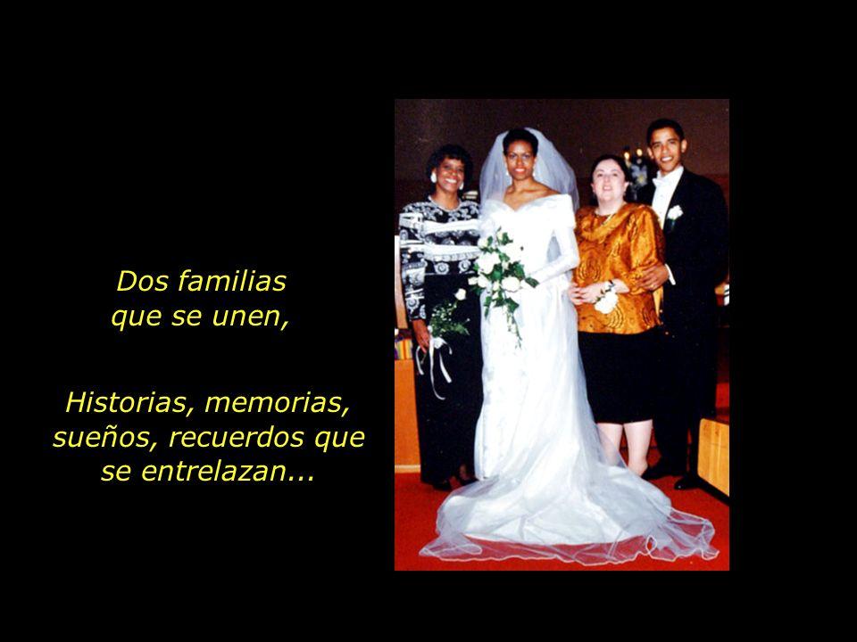 Marian Robinson con su hija, Michelle Ann Dunham con su hijo, Barak Obama