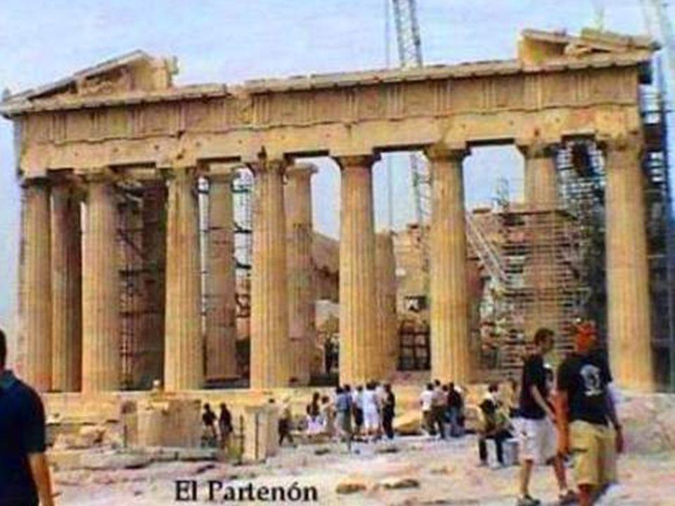 El Partenón es el templo griego situado en la Acrópolis de Atenas dedicado a Atenea, diosa protectora de la ciudad de Atenas.