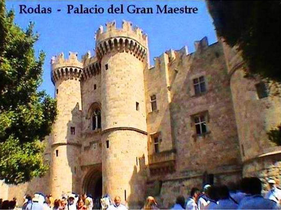 Ciudad medieval de Rodas, declarada Patrimonio de la Humanidad por la UNESCO en 1988.