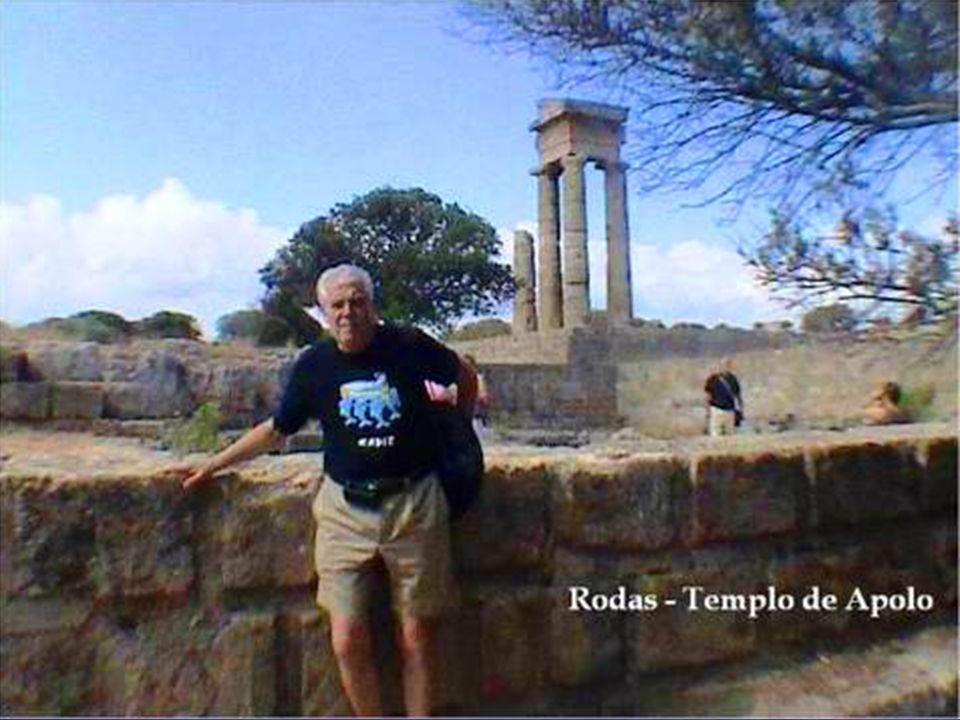 La antigua acrópolis se encuentra sobre la colina de San Stéfano (San Esteban).