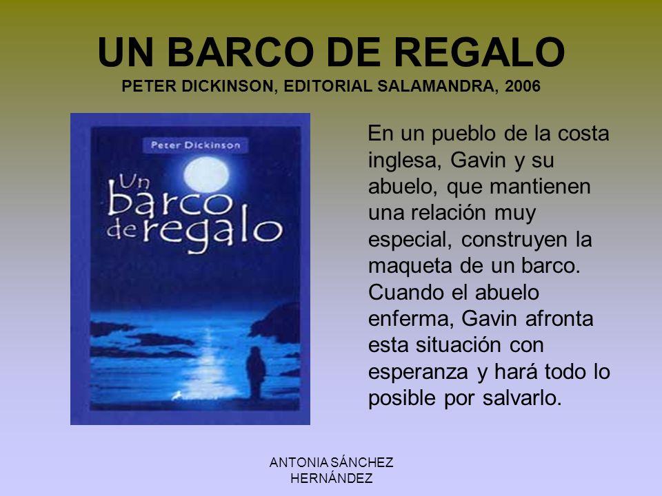 ANTONIA SÁNCHEZ HERNÁNDEZ LA POSADA DEL FIN DEL MUNDO 2.