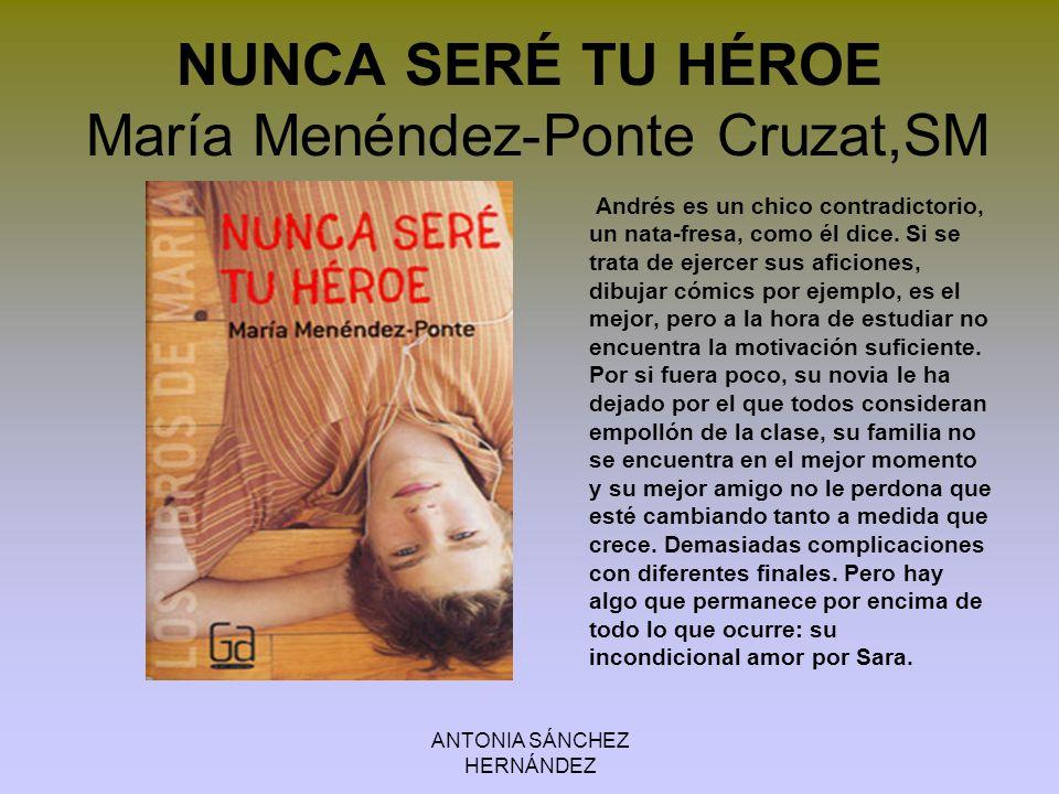 ANTONIA SÁNCHEZ HERNÁNDEZ DOCE PREGUNTAS A UN PIANO Juan Kruz Igerabide, Ed.Edebé María acaba de cumplir 14 años.
