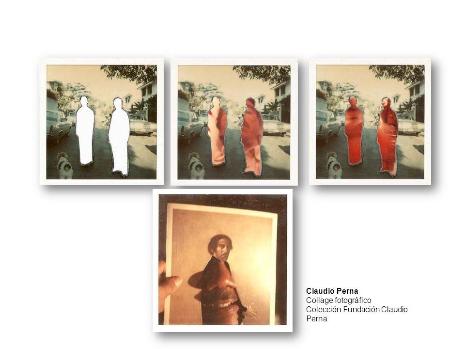 Claudio Perna Collage fotográfico Colección Fundación Claudio Perna