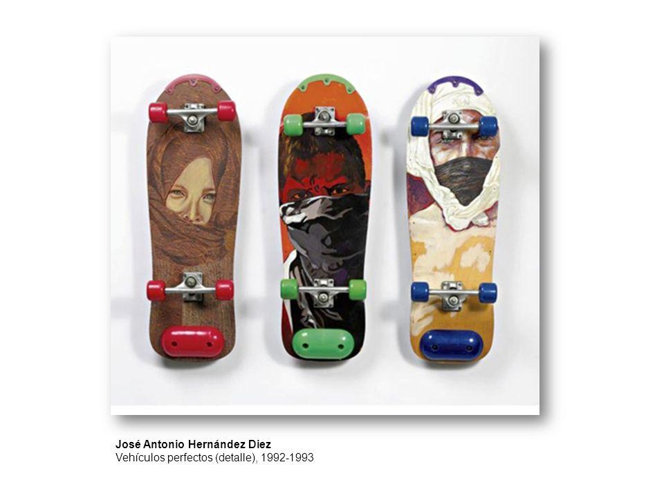 José Antonio Hernández Diez Vehículos perfectos (detalle), 1992-1993