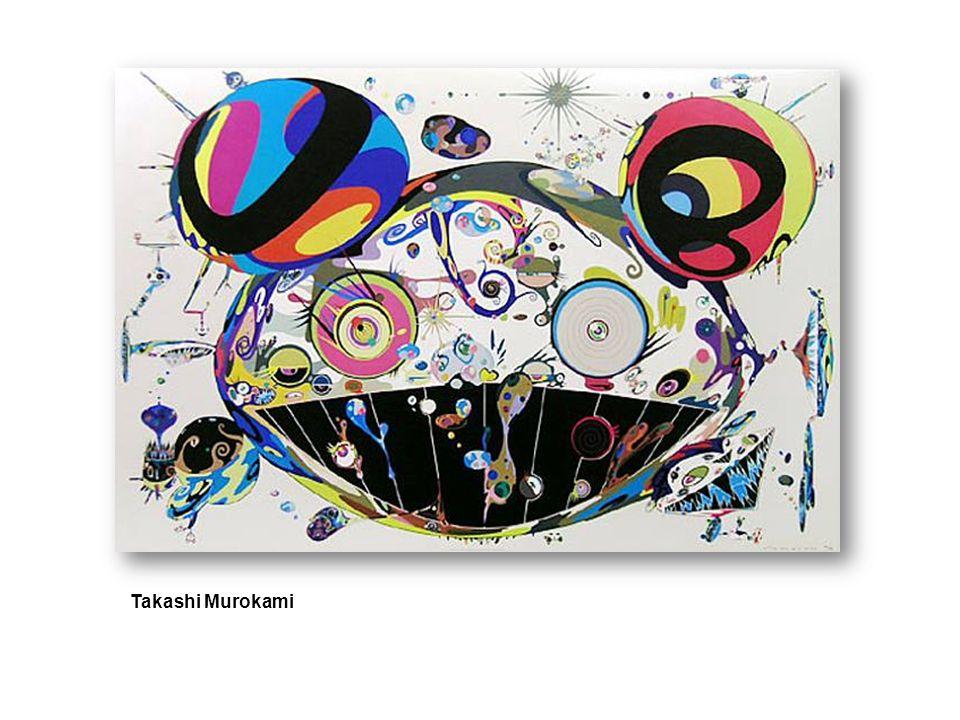 Takashi Murakamis That I may time transcend, that a universe my heart may unfold (2007), at Gagosian.