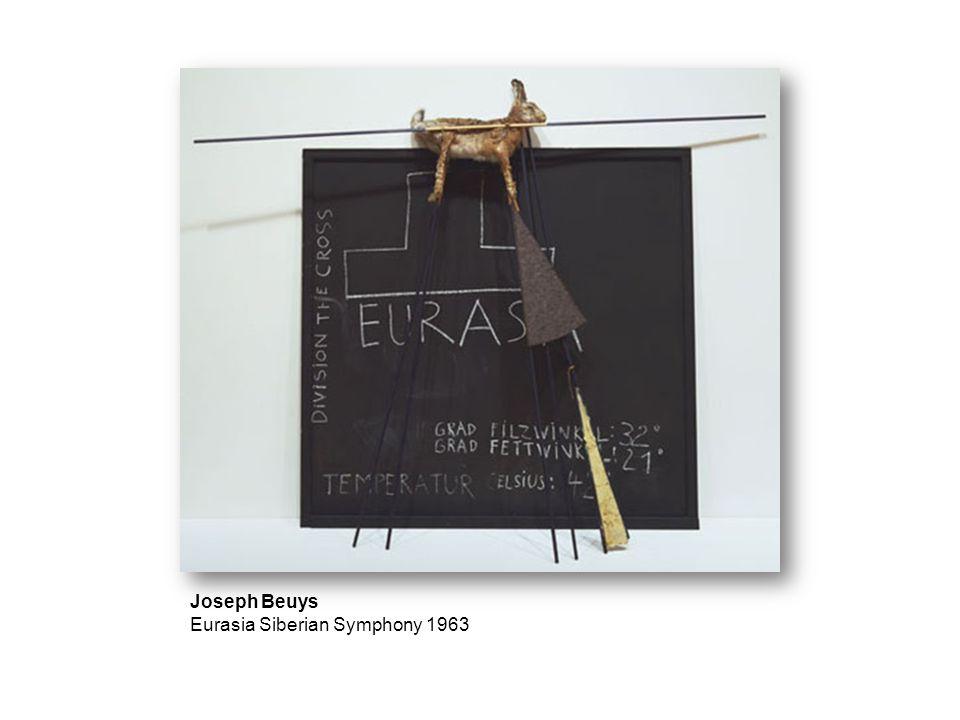 Joseph Beuys Eurasia Siberian Symphony 1963