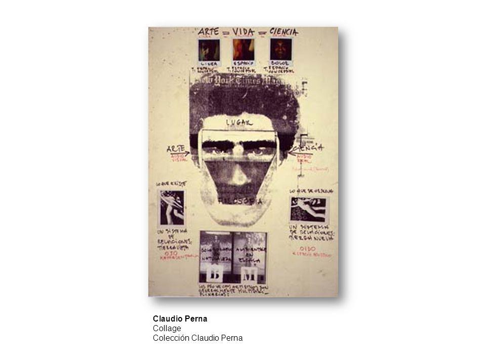 Claudio Perna Collage Colección Claudio Perna