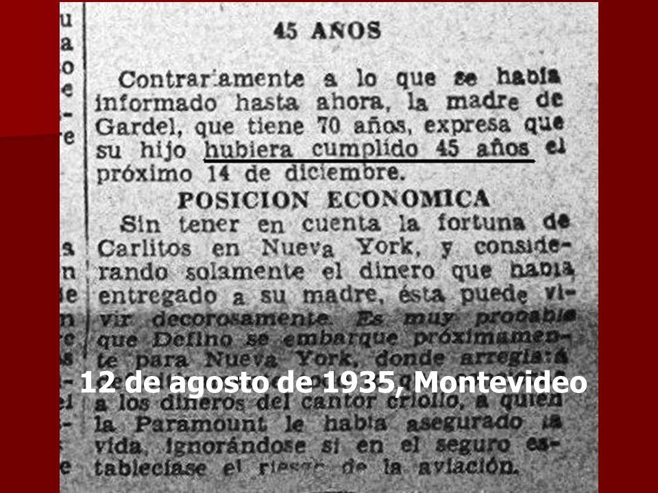 12 de agosto de 1935, Montevideo