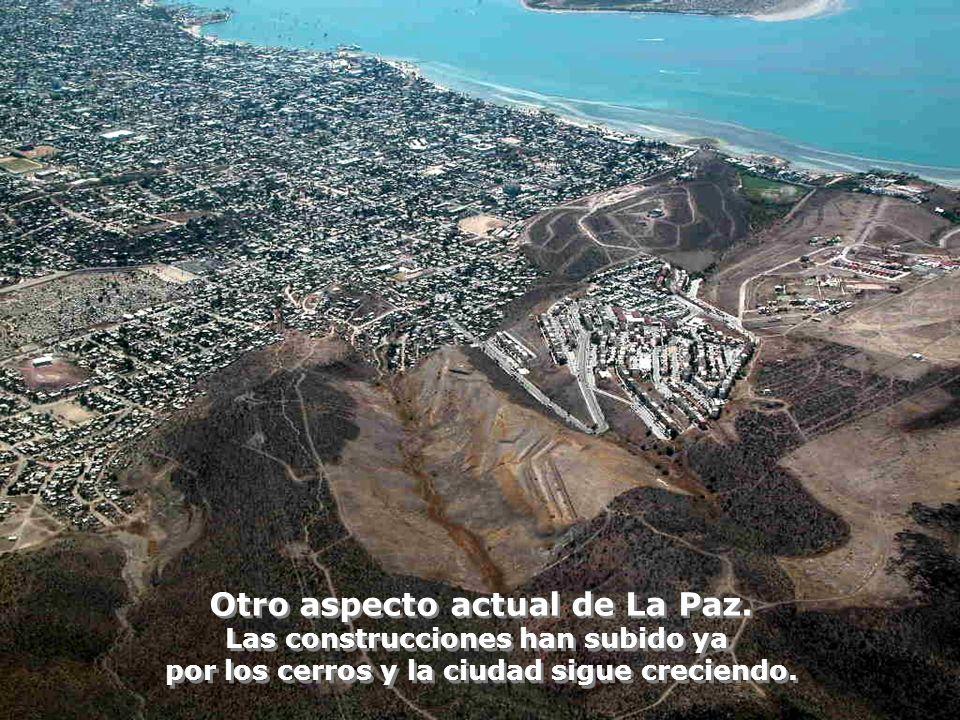 Otro aspecto actual de La Paz.