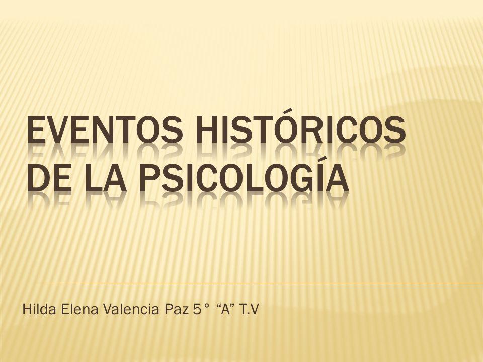 Hilda Elena Valencia Paz 5° A T.V