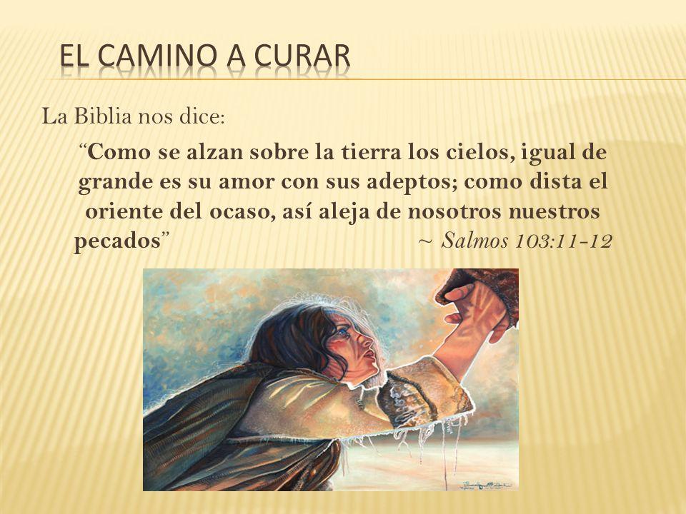 La Biblia nos dice: Como se alzan sobre la tierra los cielos, igual de grande es su amor con sus adeptos; como dista el oriente del ocaso, así aleja d