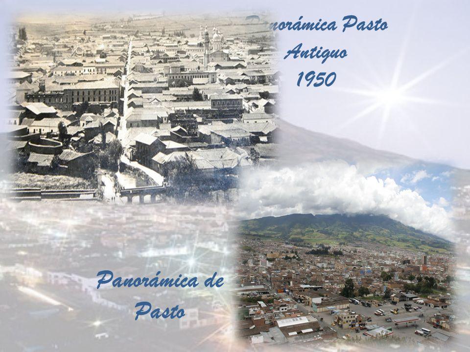 Panorámica Pasto Antiguo 1950 Panorámica de Pasto