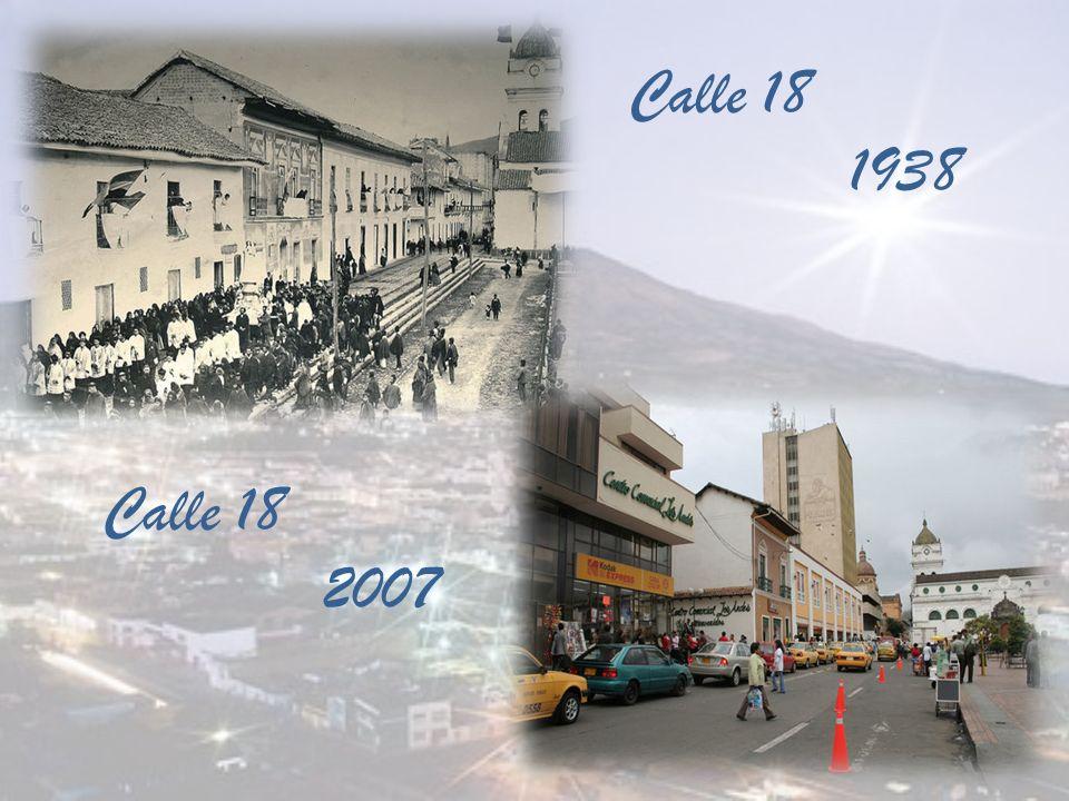 Calle de Tunja 1920 Calle de Tunja, hoy Calle 19 entre 26 y 27