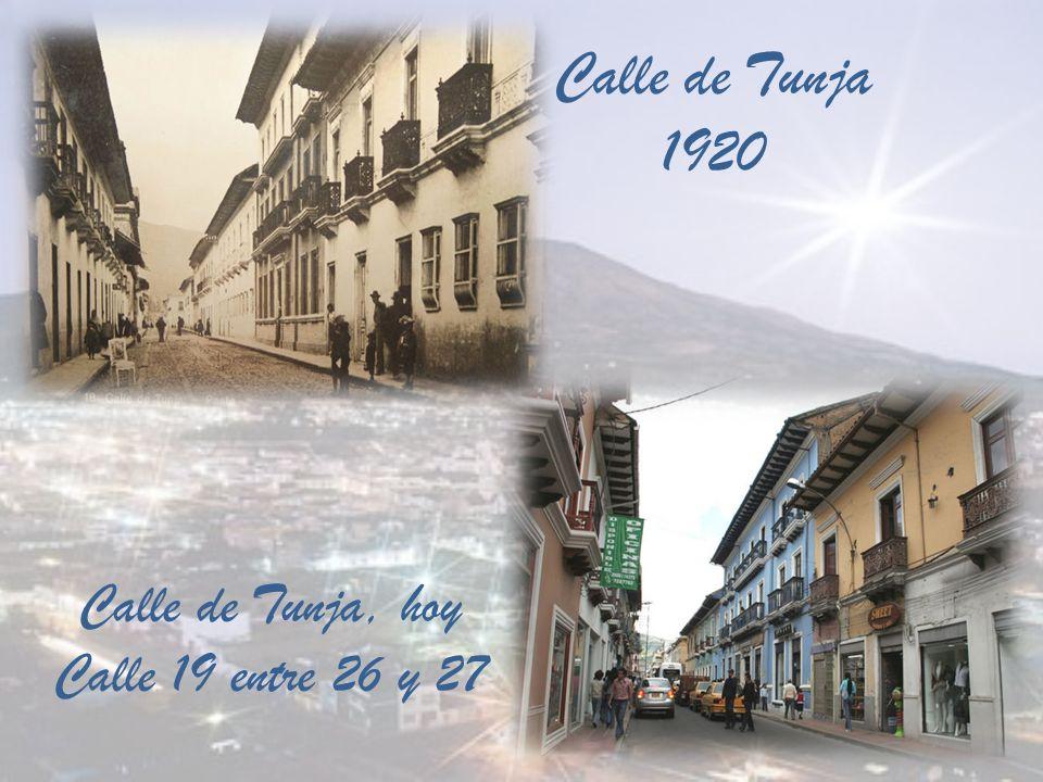 Calle del Comercio Pasto 1920 Calle del Comercio, hoy Calle 18 con carrera 24