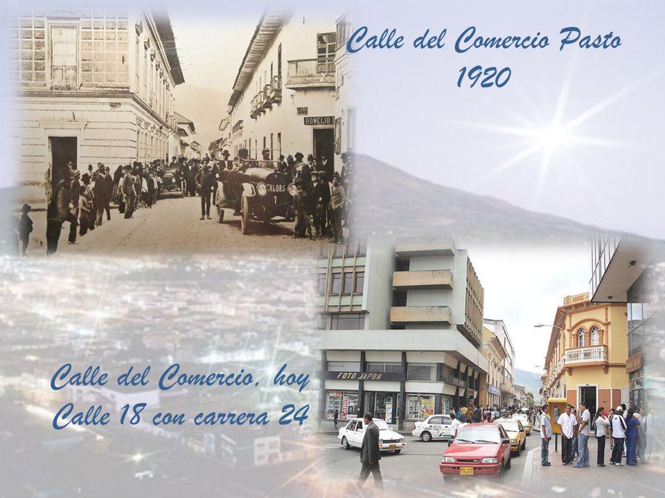 Calle San Agustín 1922 Calle San Agustín, hoy Carrera 24 con calle 19