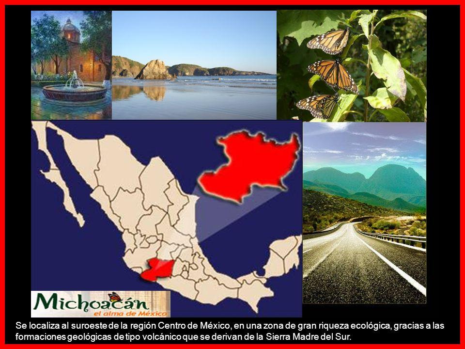 Su nombre proviene del idioma purépecha Michhuahcān o ( lugar de pescadores ), una de las cuatro provincias del Reino purépecha con capital en Tzintzuntzan, muy cerca del lago de Pátzcuaro.