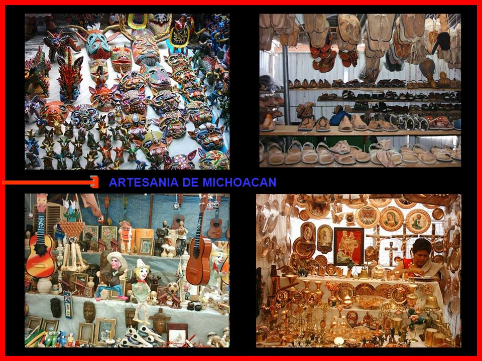 En Paracho hacen guitarras En Sahuayo un sombreral En Zamora plantan fresa Mucha papa y cebollal En Uruapan aguacates En Cotija es un quesal En los Re