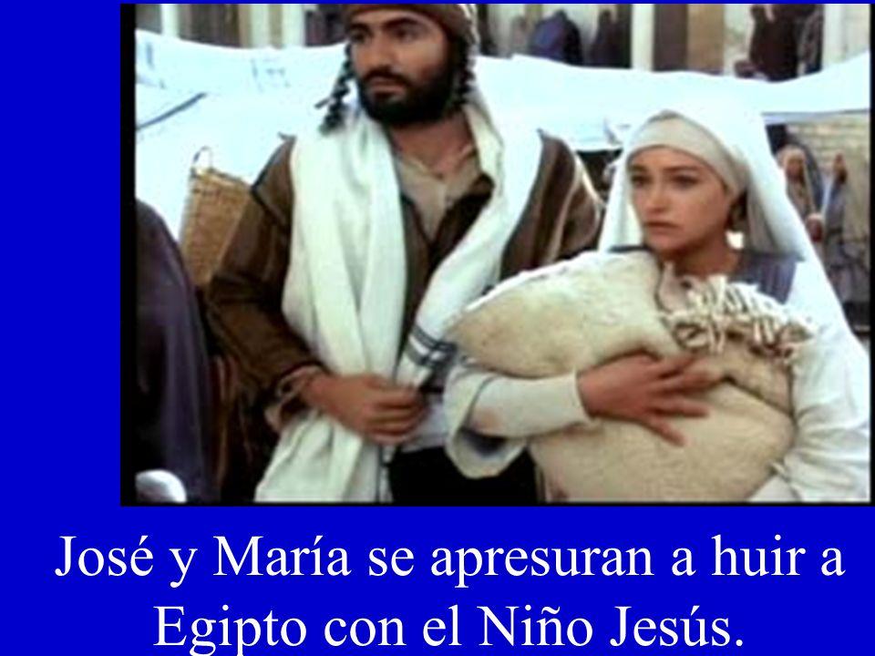 La Virgen preocupada por Jesús