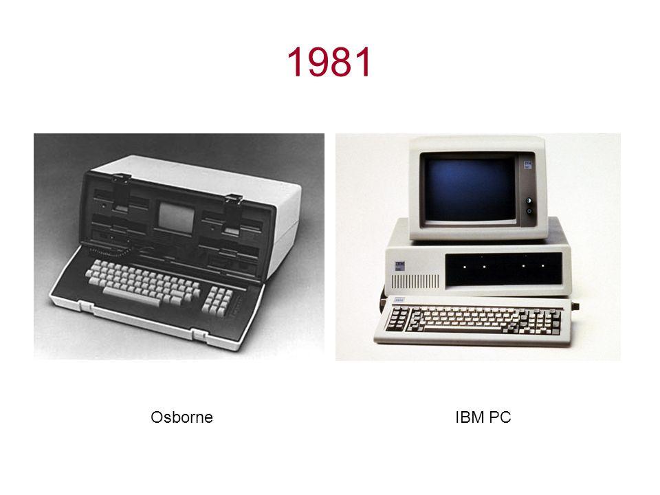 1981 OsborneIBM PC