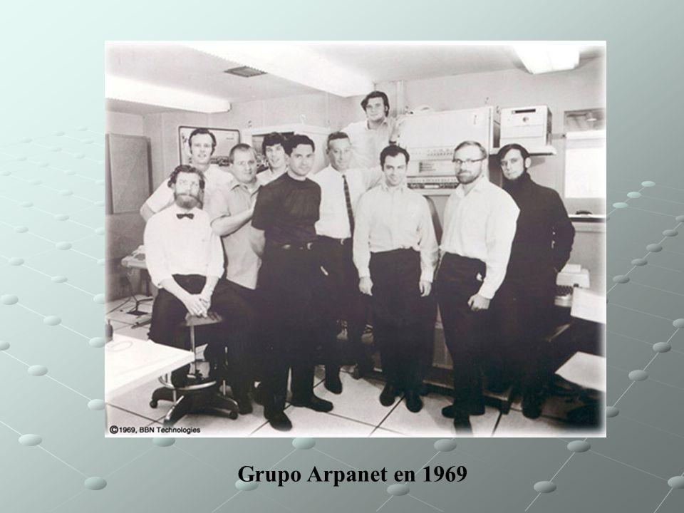 Grupo Arpanet en 1969