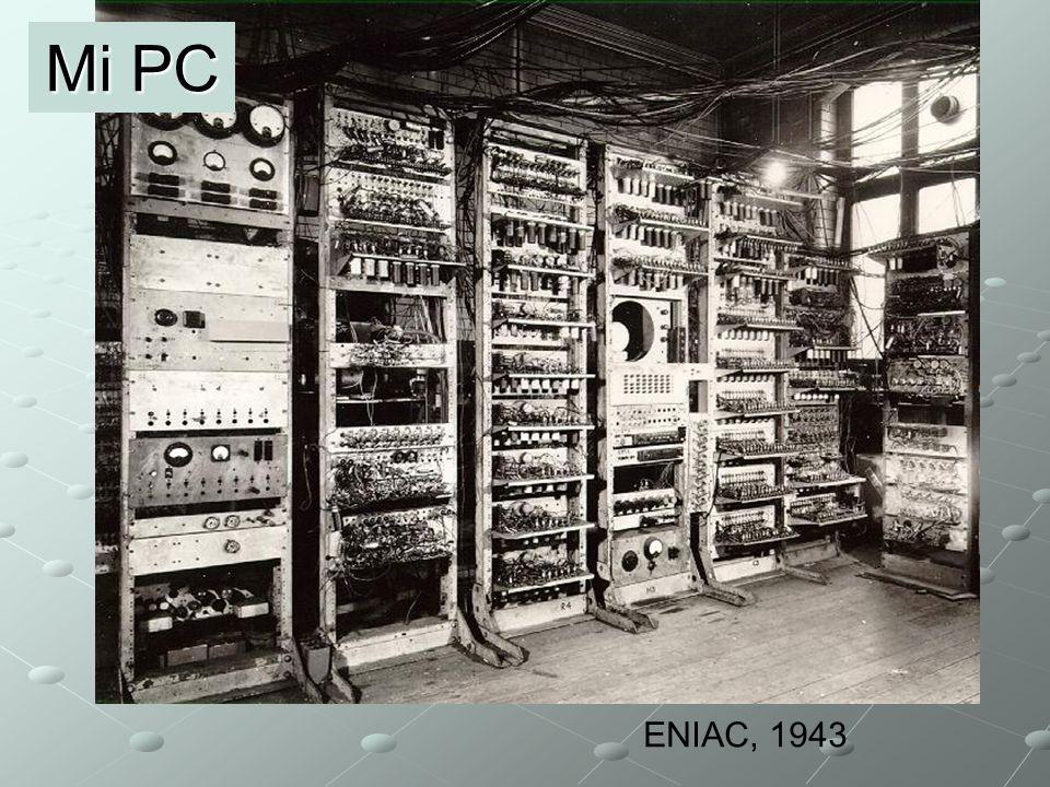 ENIAC, 1943 Mi PC