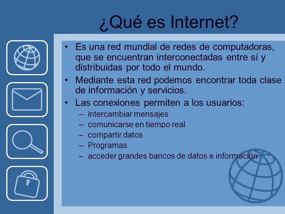 ¿Qué es Internet.