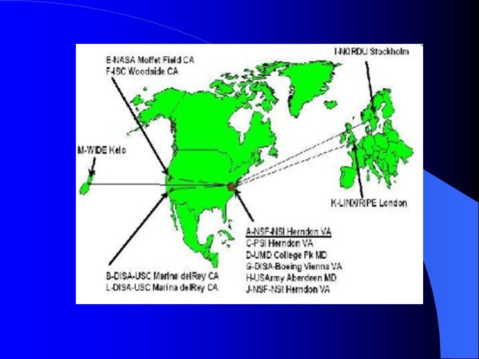 U b i c a c i ó n servidores 10 están en EU: en Virginia y Maryland se encuentran seis servidores, en California se encuentran los otros cuatro. Otros