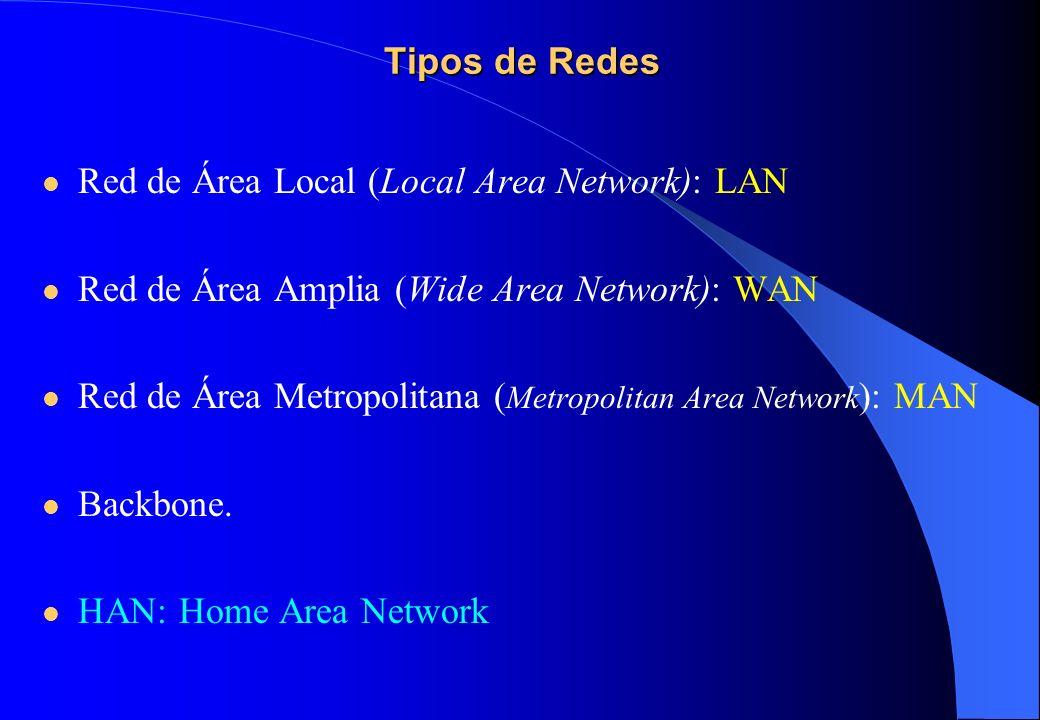 Tipos de conexiones Las conexión a Internet se establece a través de un host (una computadora) que tiene asignada su propia dirección IP, y pueden ser; Permanente o dedicada (vía LAN).