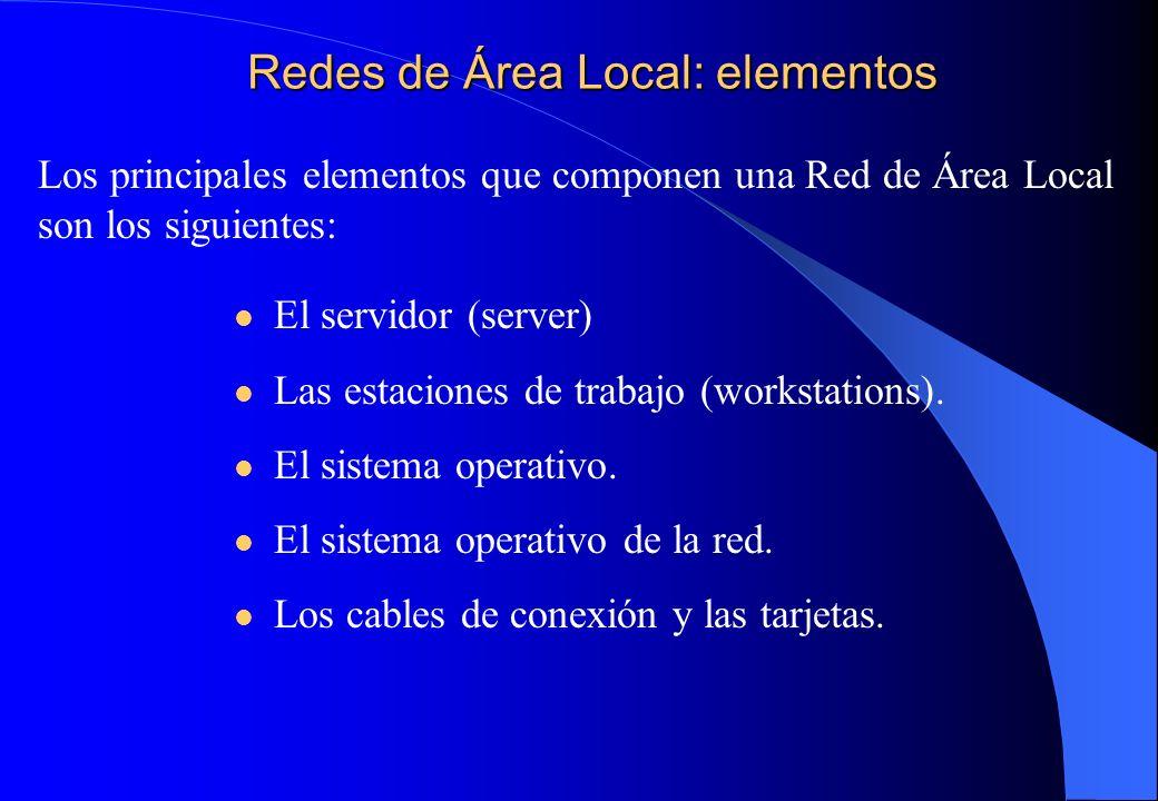 Tipos más usuales de LAN Ethernet Acceso aleatorio CSMA/CD.